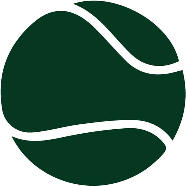 modified tennis lessons using green balls for children at Genesis Tennis