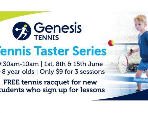 Tennis Taster Series
