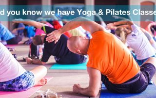 Yoga and pilates classesat genesis bray park