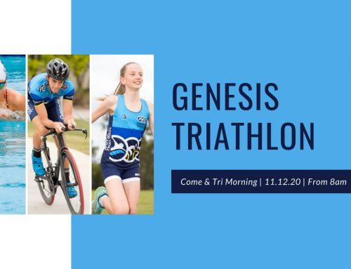 Genesis Triathlon: Come and Tri!
